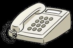 Telefon mit Tasten