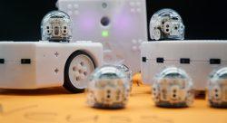 Lernroboter Ozobot und Thymio